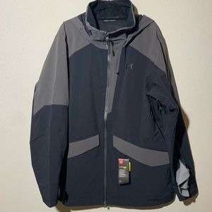 NWT UNDER ARMOUR Men's XXL Storm Proof Jacket
